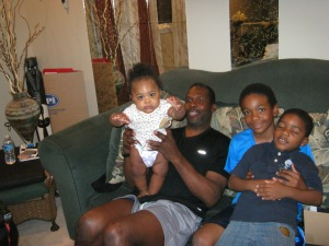 Our son and grandkids